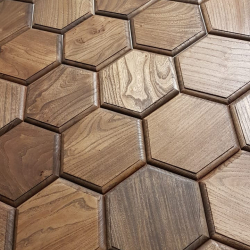 Деревянная интерьерная плитка